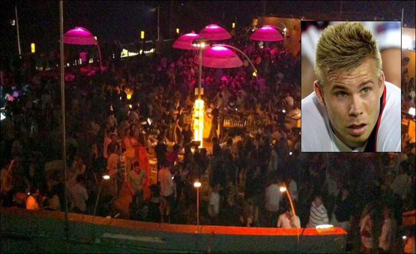 TROR PÅ PEDERSEN: Politiet i Tal Aviv tror på Marcus Pedersen, da han fortalte at han ble angrepet og slått i hodet med en flaske.