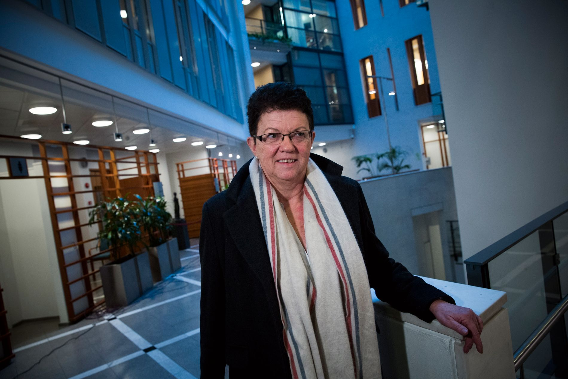 REPRESENTERER FORNÆRMEDE: Klienten (20) til advokat Ellen Holager Andenæs, sier hun ikke ønsker rollen som offer for et overgrep i Unge Høyre-saken.