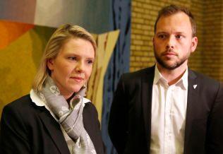 VRIEN DEBATT: Listhaug kunne ikke svare SVs Audun Lysbakken konkret om hvorfor asylretur til Russland er trygt.