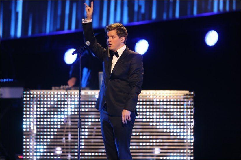 OL-LÅT: Alexander Denstad With var en av artistene som bidro til OL-låten «The Best Of Us». Foto. FRODE HANSEN