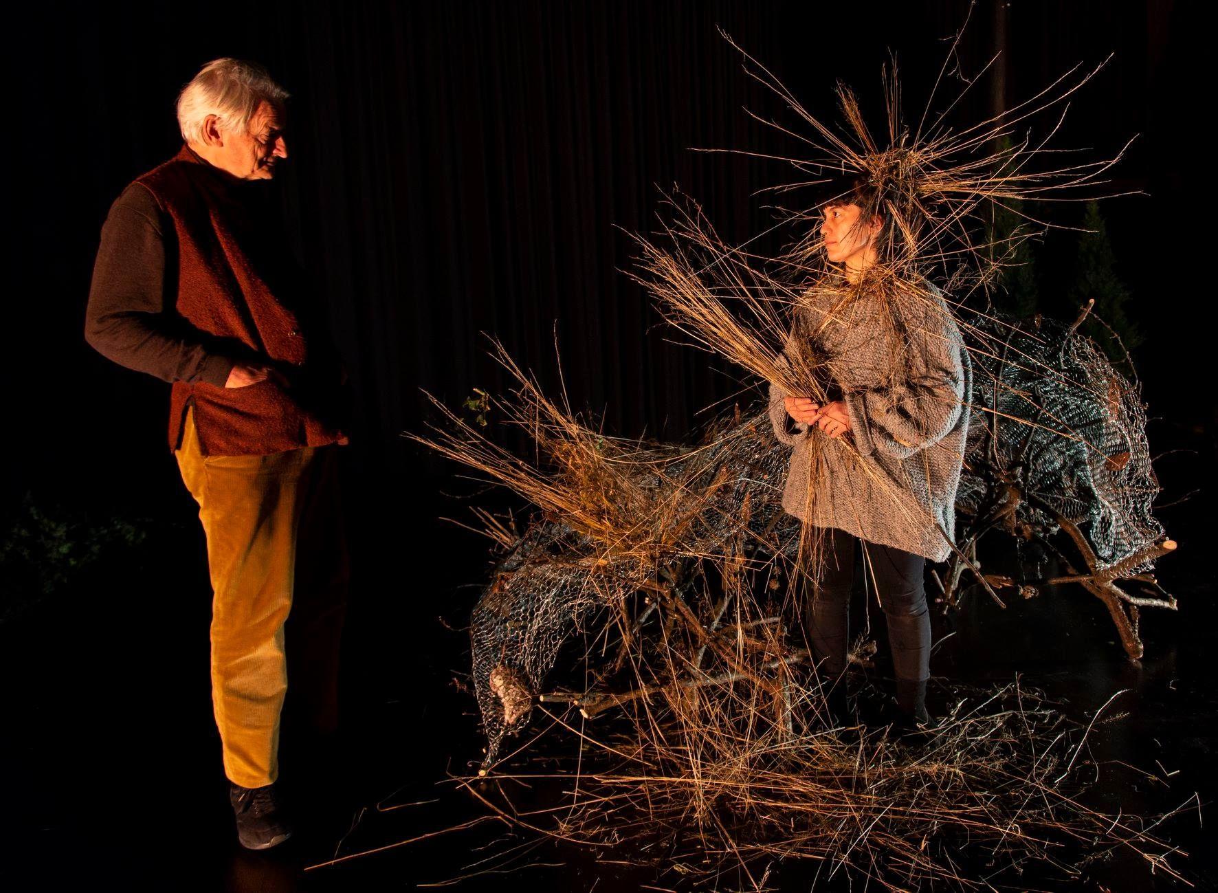 KONTROVERSIELT TEATER: Fra forstillingen «Ways of Seeing» på Black Box Teater.
