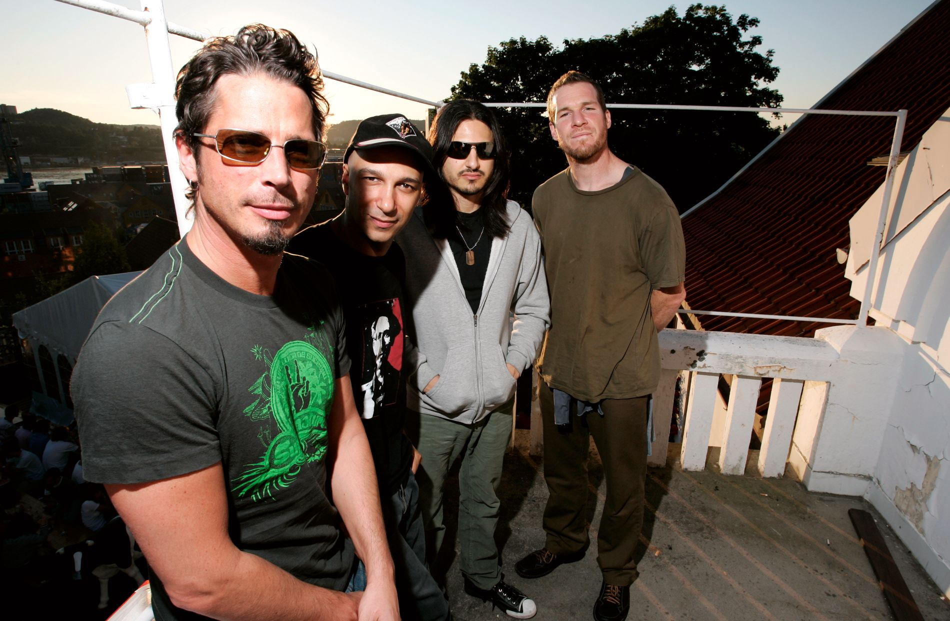 PÅ QUART: Chris Cornell med Audioslave i Kristiansand i 2005.