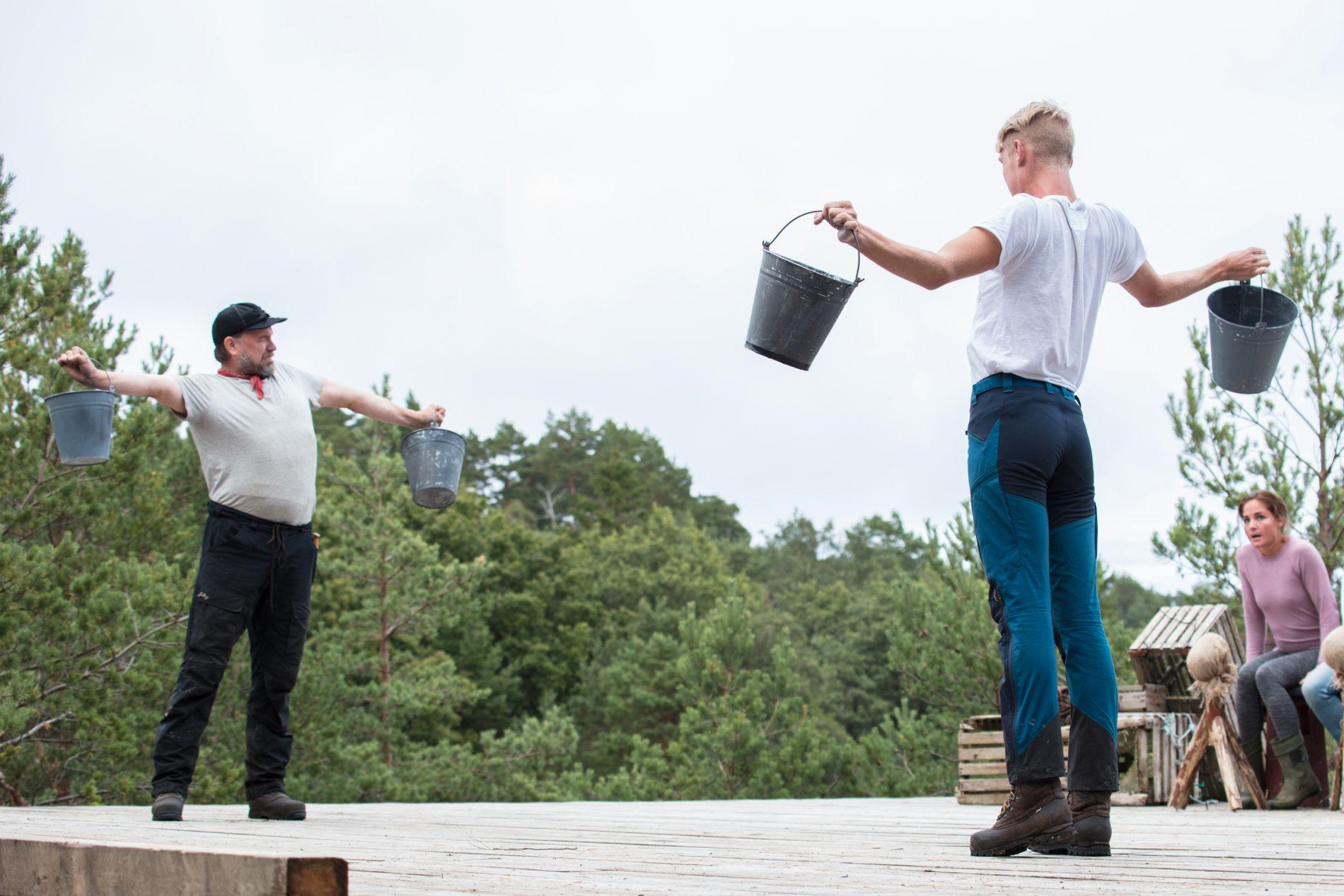OMSTRIDT: Denne tvekampen går inn i «Farmen»-historien som en av de mest kontroversielle.