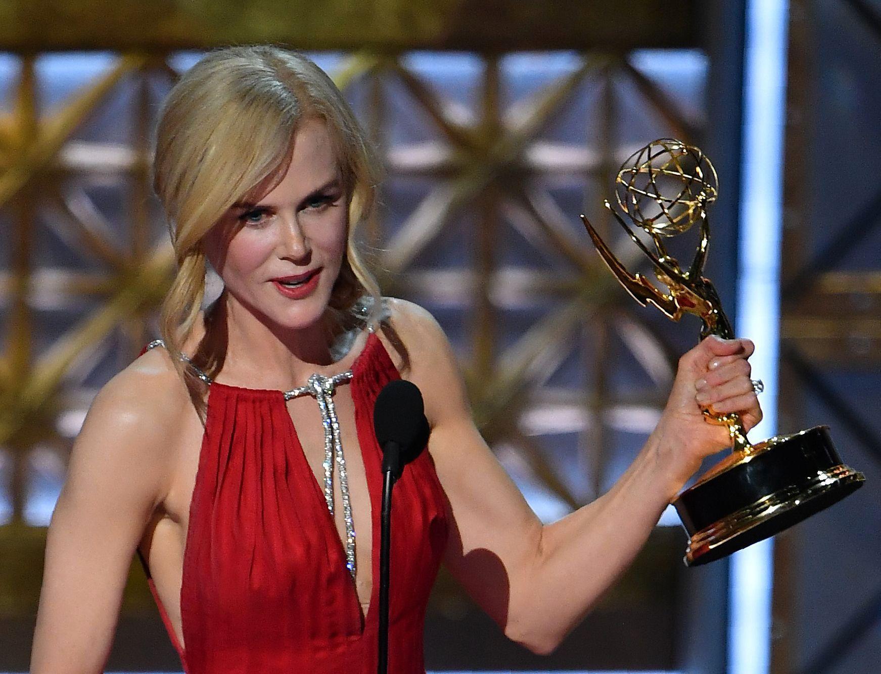 VINNER: Nicole Kidman.