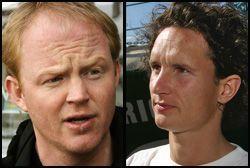 REAGERER: Lars Haltbrekken i Naturvernforbundet (til venstre) og Truls Gulowsen i Greenpeace. Foto: SCANPIX