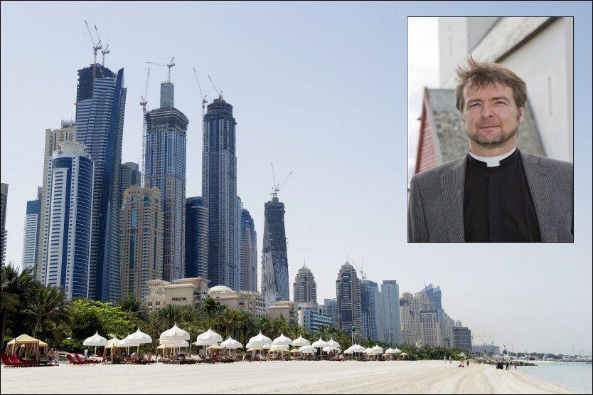 LYKKELIG: Sjømannsprest Gisle Meling i Dubai er glad for sakens utfall. Foto: GØRAN BOHLIN / KNUT IVAR JOHANSEN