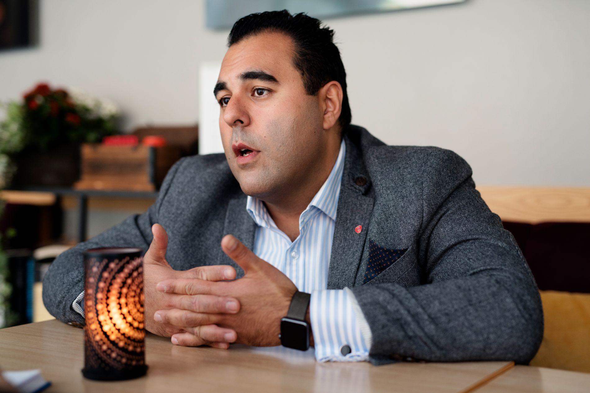 NY POLITIKK: – Omleggingen vi foreslår vil framfor alt gjøre politikken mer human, skriver Masud Gharahkhani.
