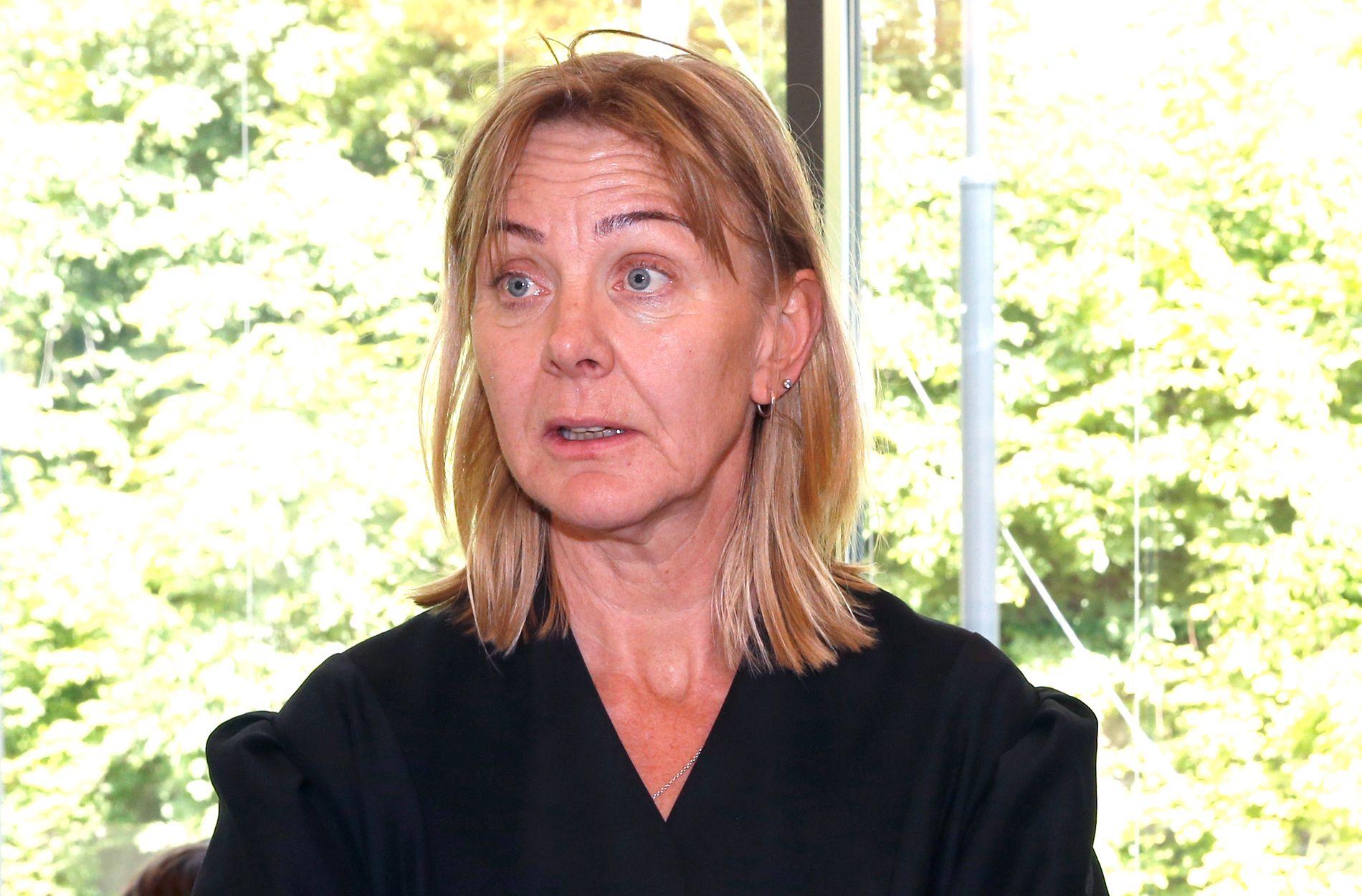 FORSVARER: Advokat Gunhild Bergan representerer den drapssiktede finske statsborgeren (55) med tyrkisk bakgrunn.