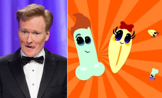 INSPIRERT  Den svenske skaperen bak Snippan og Snoppen innrømmer at den  amerikanske talkshow-verten Conan O Brien var i tankene da han tegnet  figurene. 32c28a8d230a2