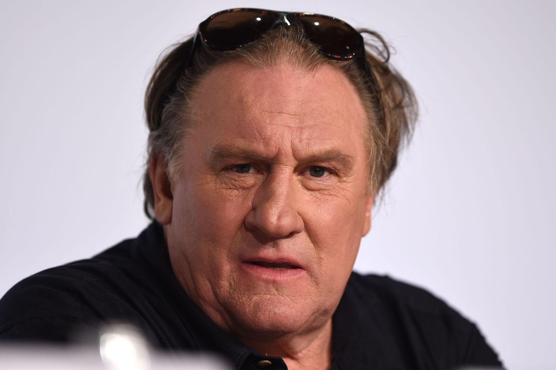 VOLDTEKTSANKLAGER: Den franske skuespilleren Gérard Depardieu anklages for voldtekt av en ung kvinne. Bildet er tatt under filmfestivalen i Cannes i 2015.