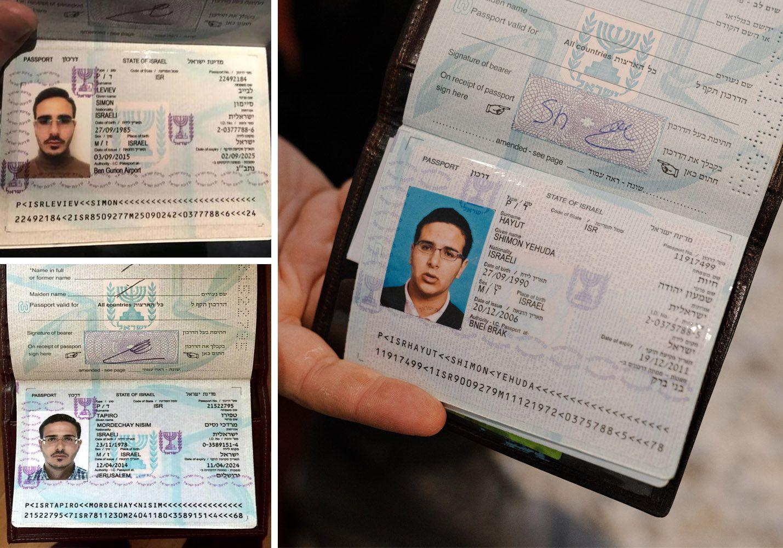 MANGE PASS: Shimon Yehuda Hayut endret navn til Simon Leviev i 2017. Han har reist rundt med falskt pass under navnet Mordechai Nisim Tapiro tidligere.