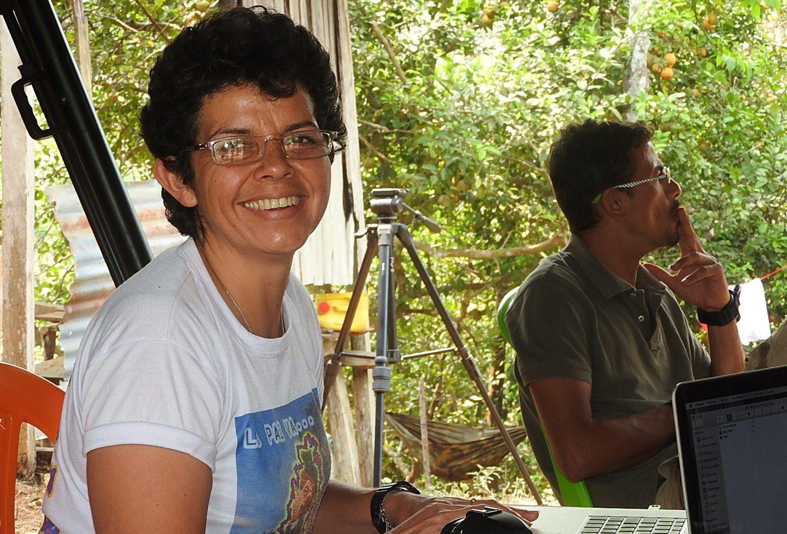 SNART ET NYTT LIV: Carmenza Castillo (46) har vært med i FARC siden 1984. Nå starter en ny tid.