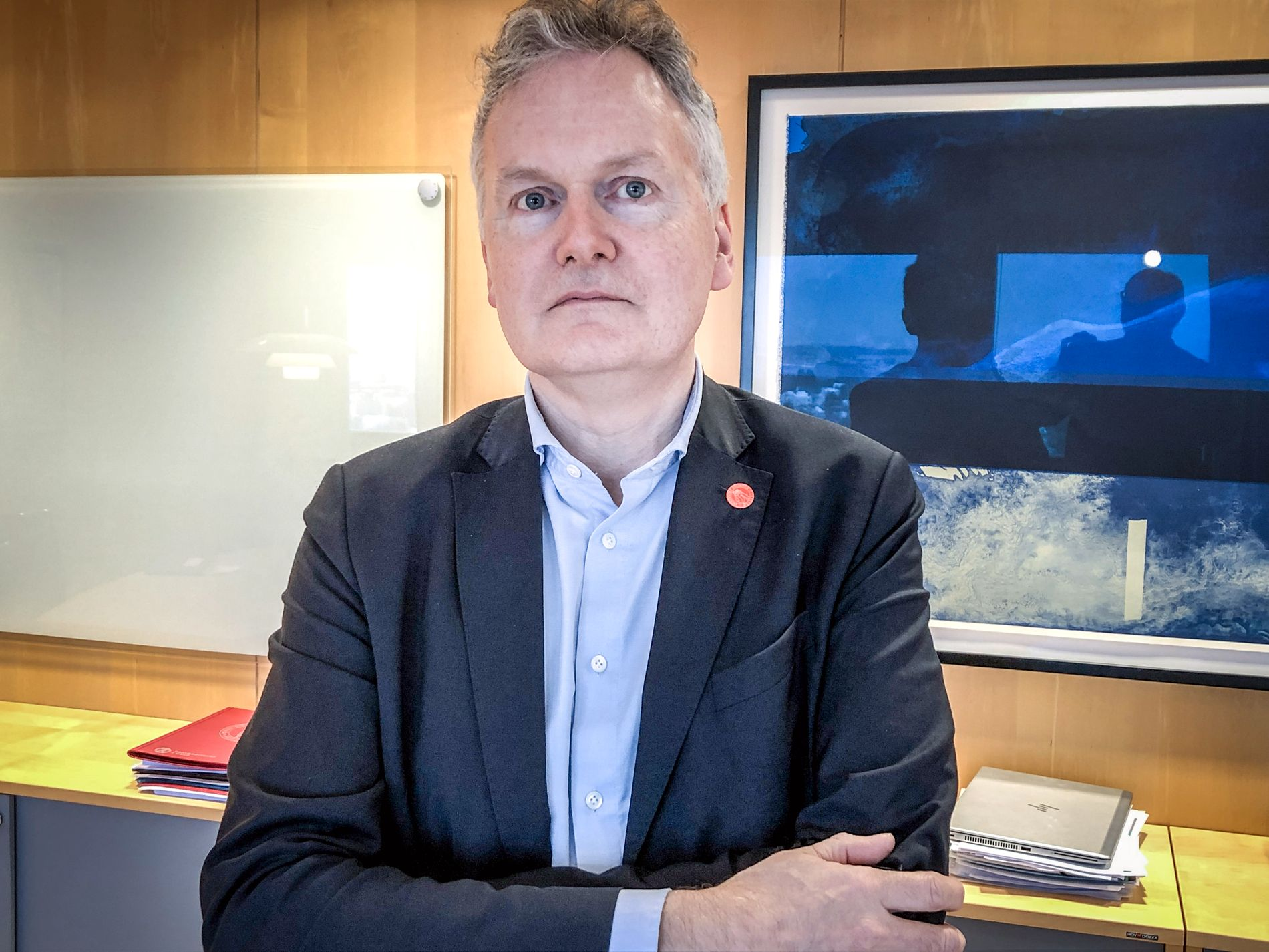 SVARER SKRIFTLIG: UiO-direktør Arne Benjaminsen.