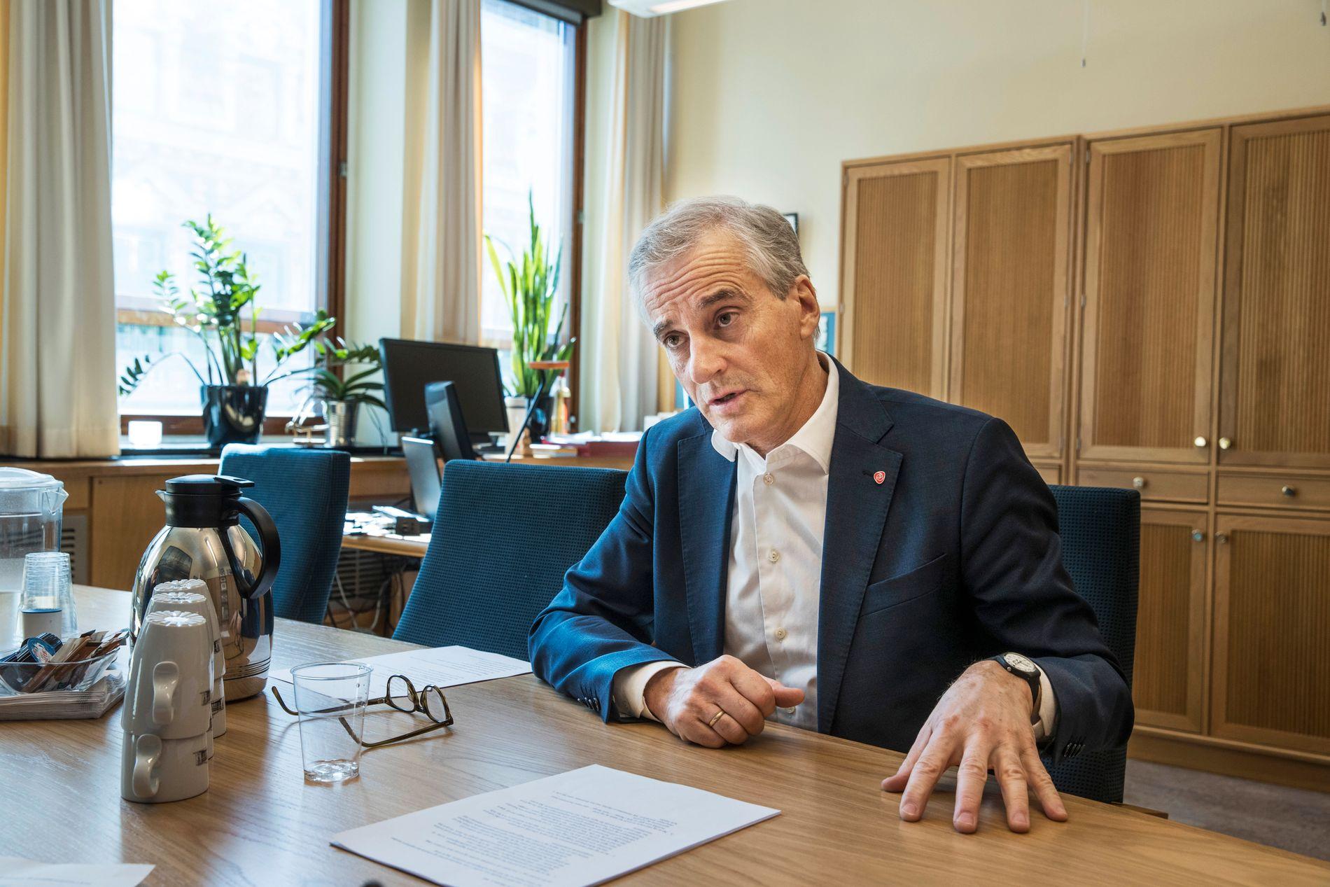 STØRES AP: Ap-leder Jonas Gahr Støre sier «det er bra at ikke alle i Arbeiderpartiet er som meg».