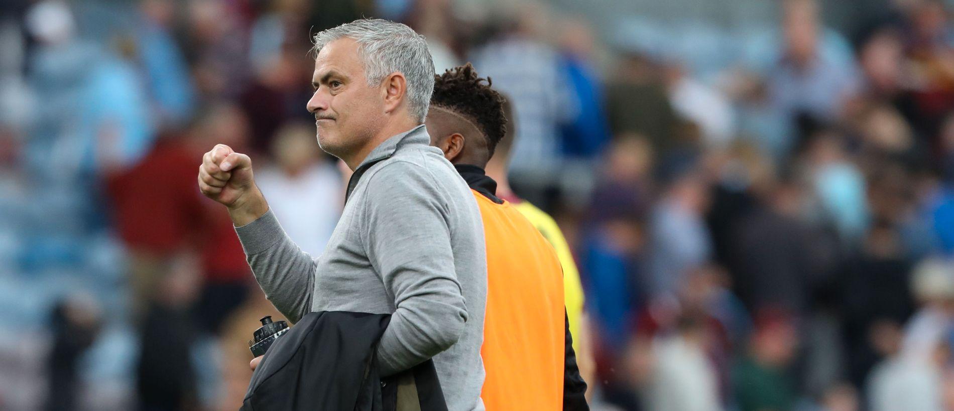 FORNØYD: José Mourinho.