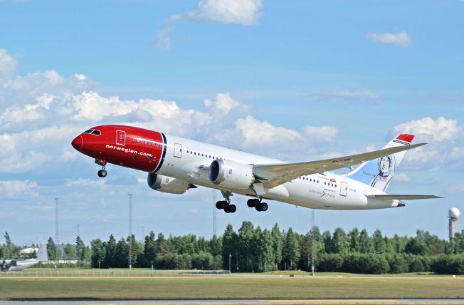 I LUFTEN: Norwegian ønsker å få alle sine fly opp i luften igjen.