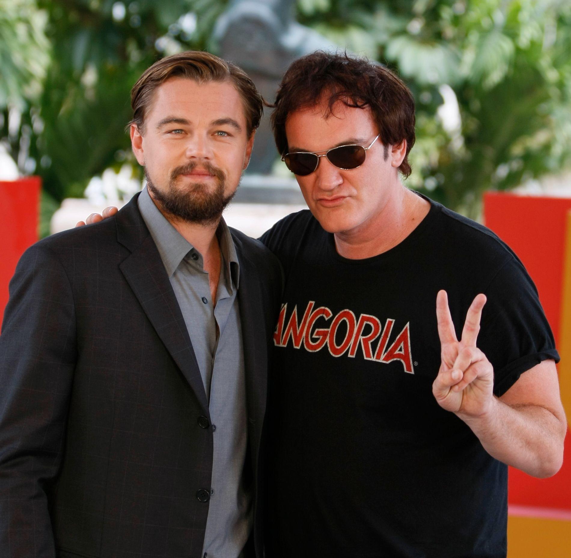 JOBBER SAMMEN IGJEN: Leonardo DiCaprio og Quentin Tarantino jobbet sammen med «Django Unchained» i 2012.