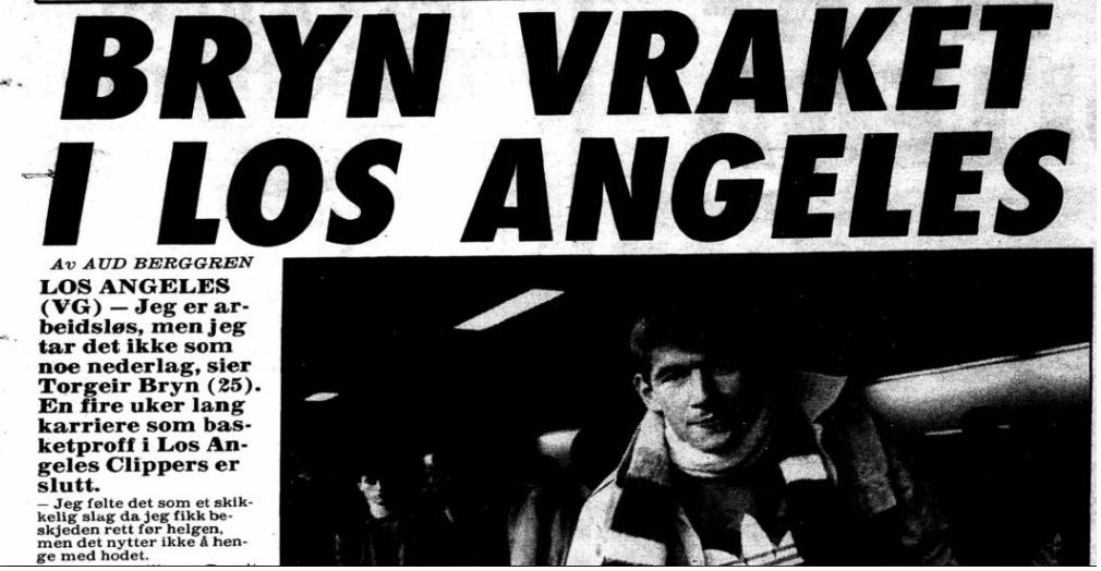 VRAKET: Her er VGs artikkel fra 1989.