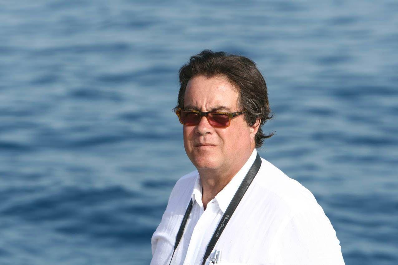 OMKOM: Den italienske arkeologen og politikeren Sebastiano Tuso, som jobber for den italienske kulturministeren.