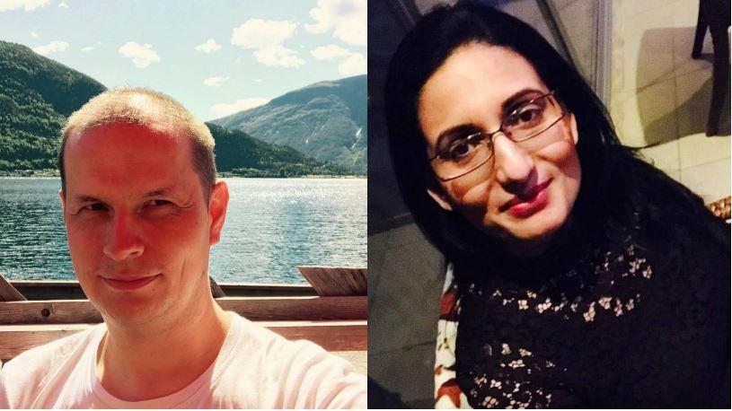 INITIATIVTAGERE: Raymond Kristiansen og Nasim Khaliq ønsker at nabolaget går sammen om å løse situasjonen på Vestli.