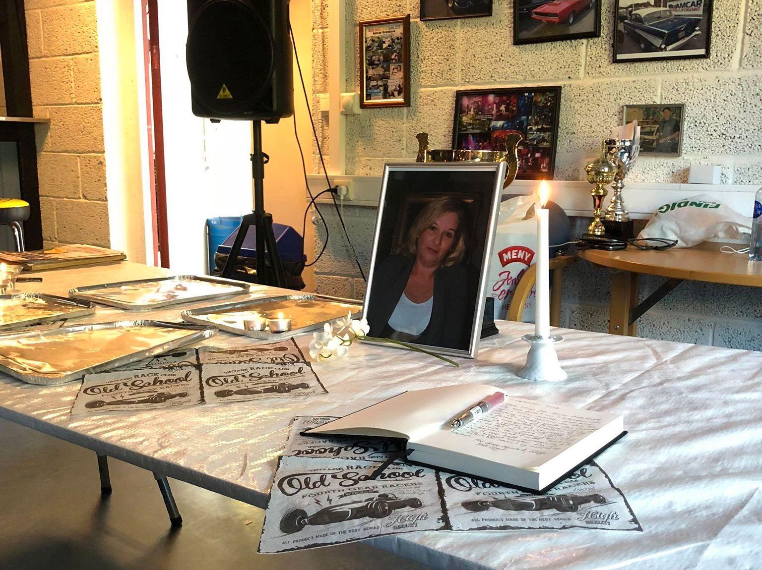 MINNESTUND: Wenche Kise var en av de fem personene som omkom i den tragiske bilulykken på Rjukan søndag.