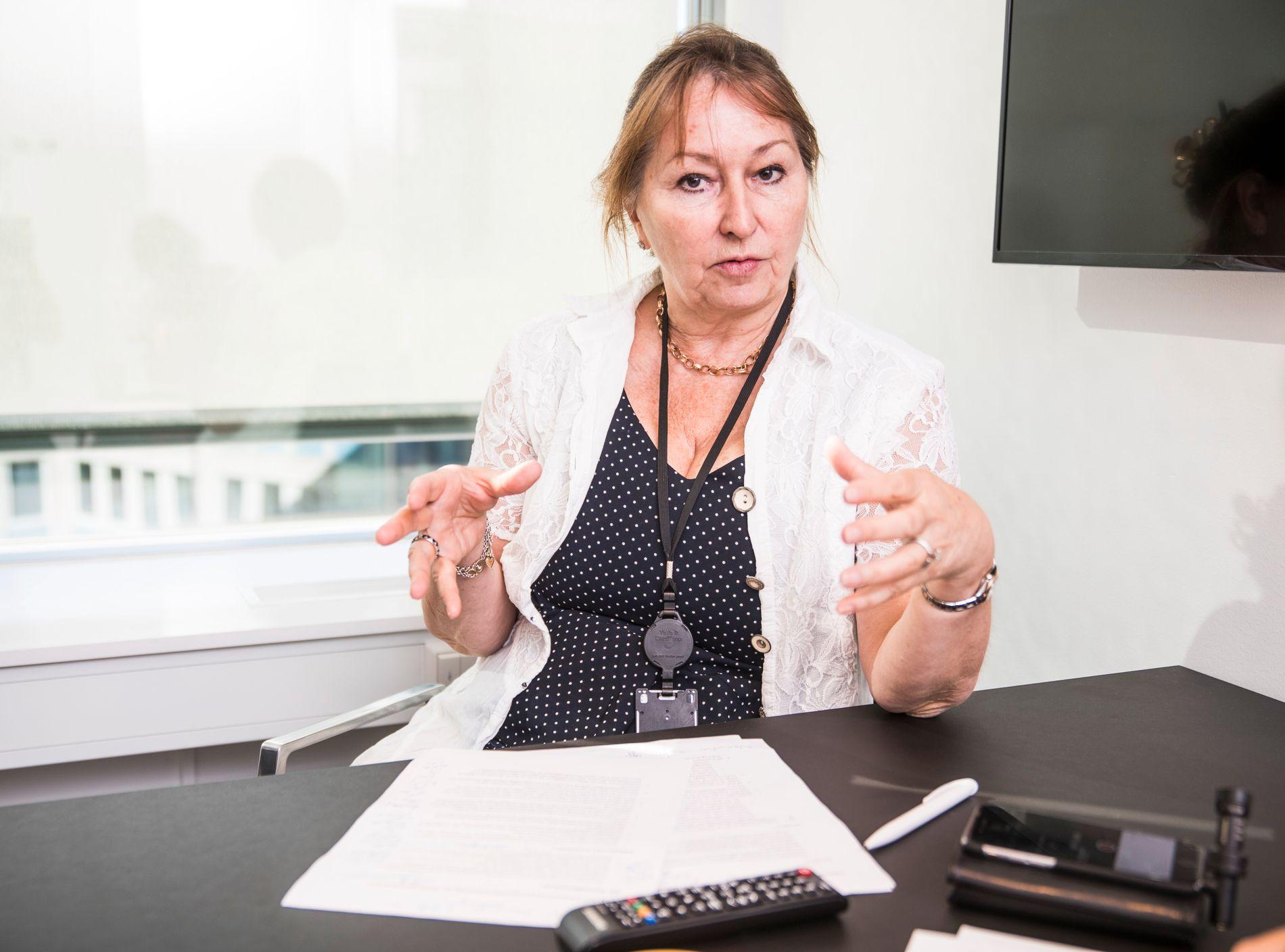 VIL REFORMERE: KS-leder Gunn Marit Helgesen mener særaldersgrensene for pensjon er utdatert.