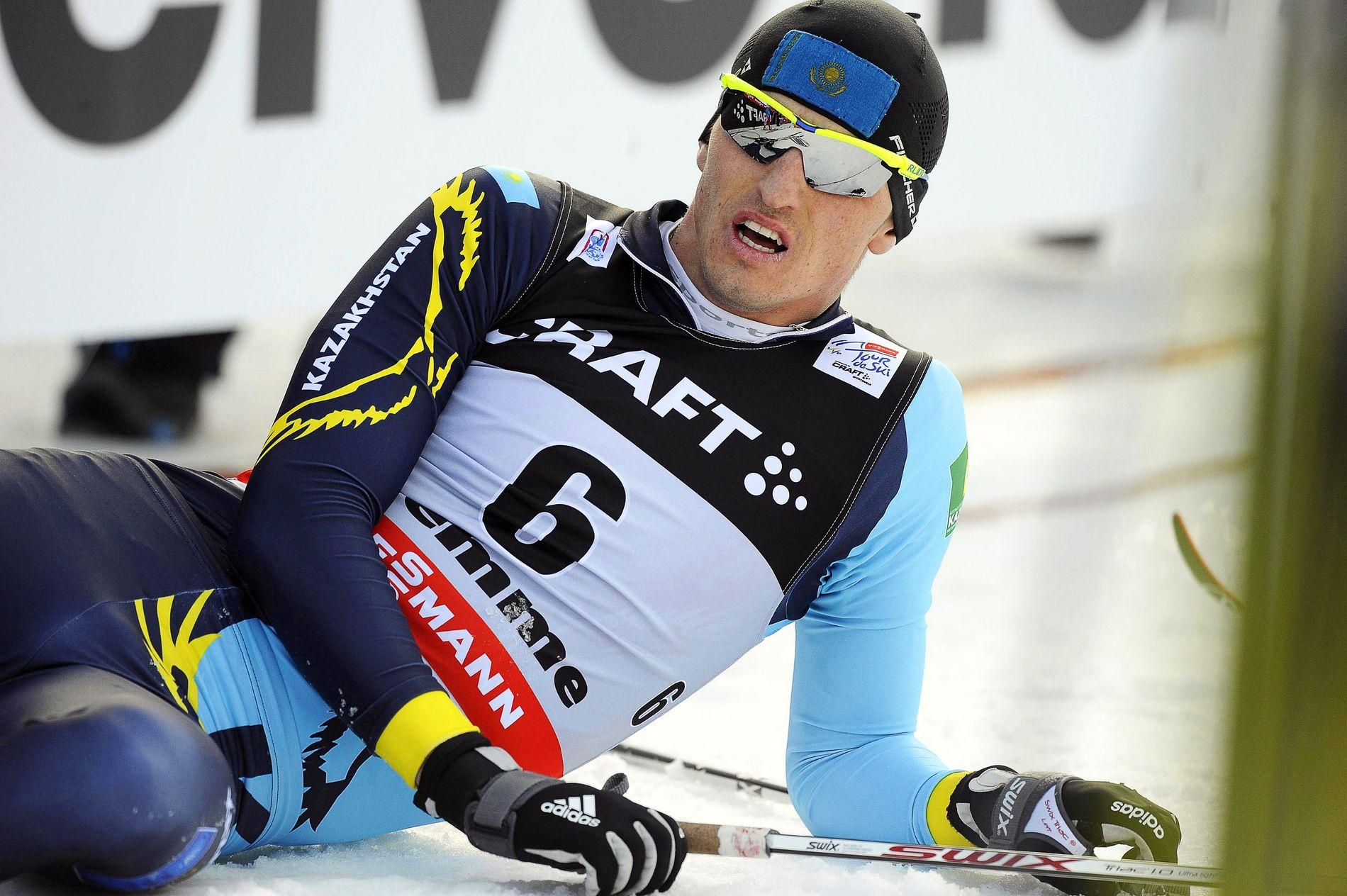 OMSTRIDT: Aleksej Poltaranin fra Kasakhstan.