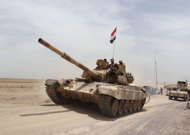 IRAK ANGRIPER: Irakiske sikkerhetsstyrker har innledet den varslede offensiven for å gjenerobre Ramadi fra IS.