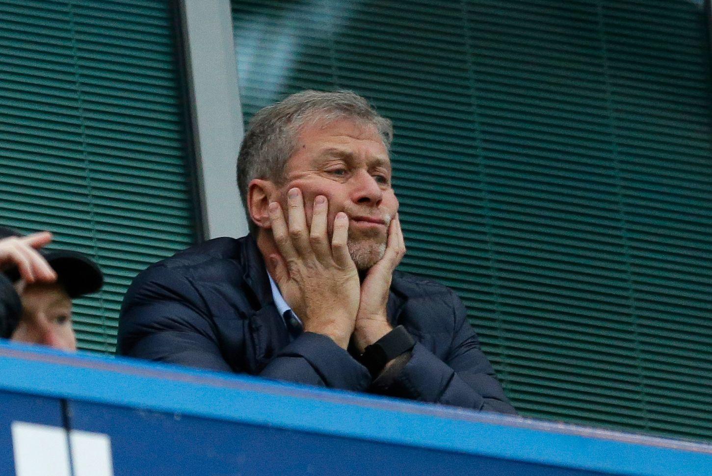 KOSTBARE SKILSMISSER: Ikke bare konene til Roman Abramovich har vært dyre å skille seg fra - også managerne har gjort innhogg i russerens lommebok. Her fra en kamp i 2015.