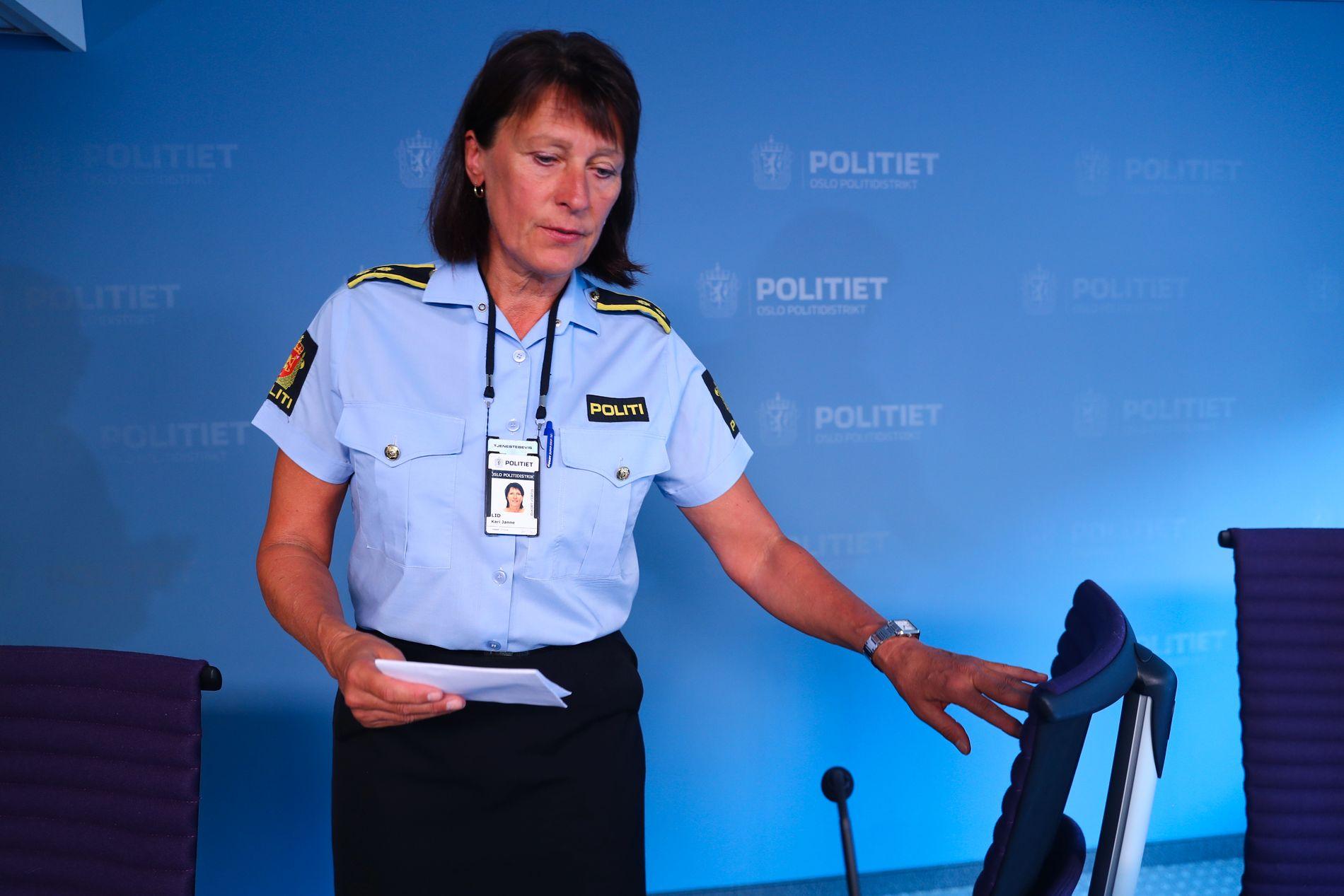 INFORMERTE PRESSEN: Leder Kari-Janne Lid ved seksjons for sedelighet i Oslo politidistrikt.