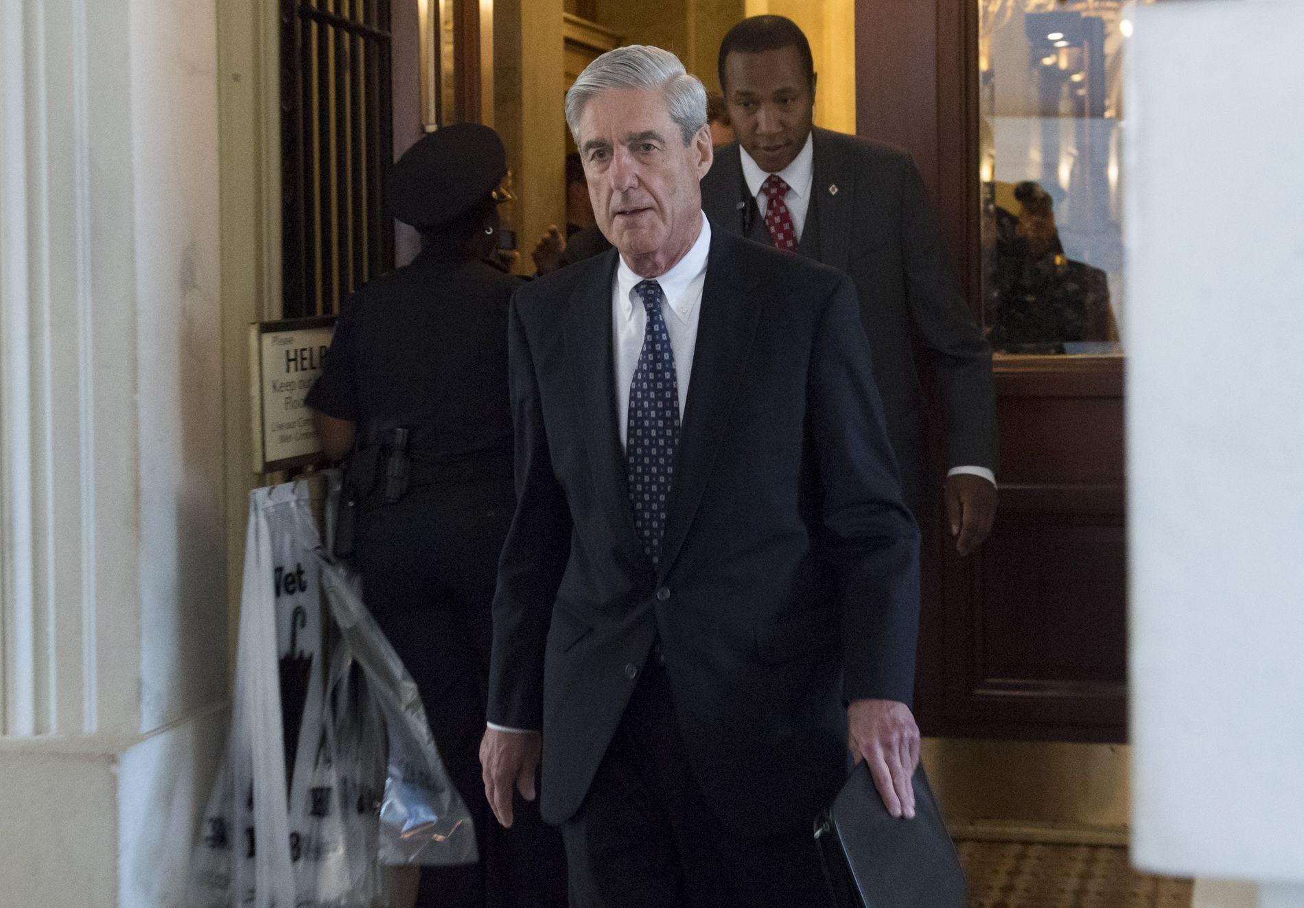 ETTERFORSKER: Spesialetterforsker Robert Mueller kan ha avdekket et forsøk på å etablere en hemmelig kanal mellom Trump-administrasjonen og Russland.