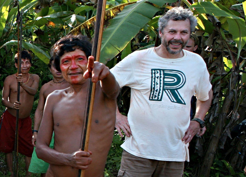 REGNSKOGSVETERAN: Jungellivet i Amazonas og bevaring av regnskogen er noe sosialantropologen og aktivisten Lars Løvold har viet hele sitt arbeidsliv til.