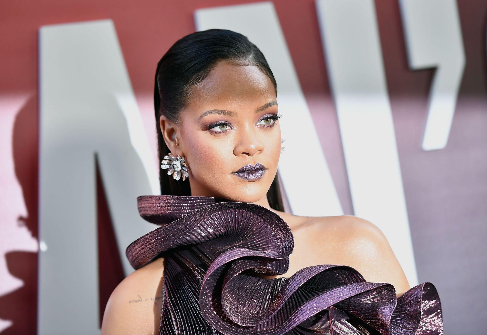 HACKET: Det var gjennom iCloud at hackerne fikk tilgang til Rihannas private bilder.