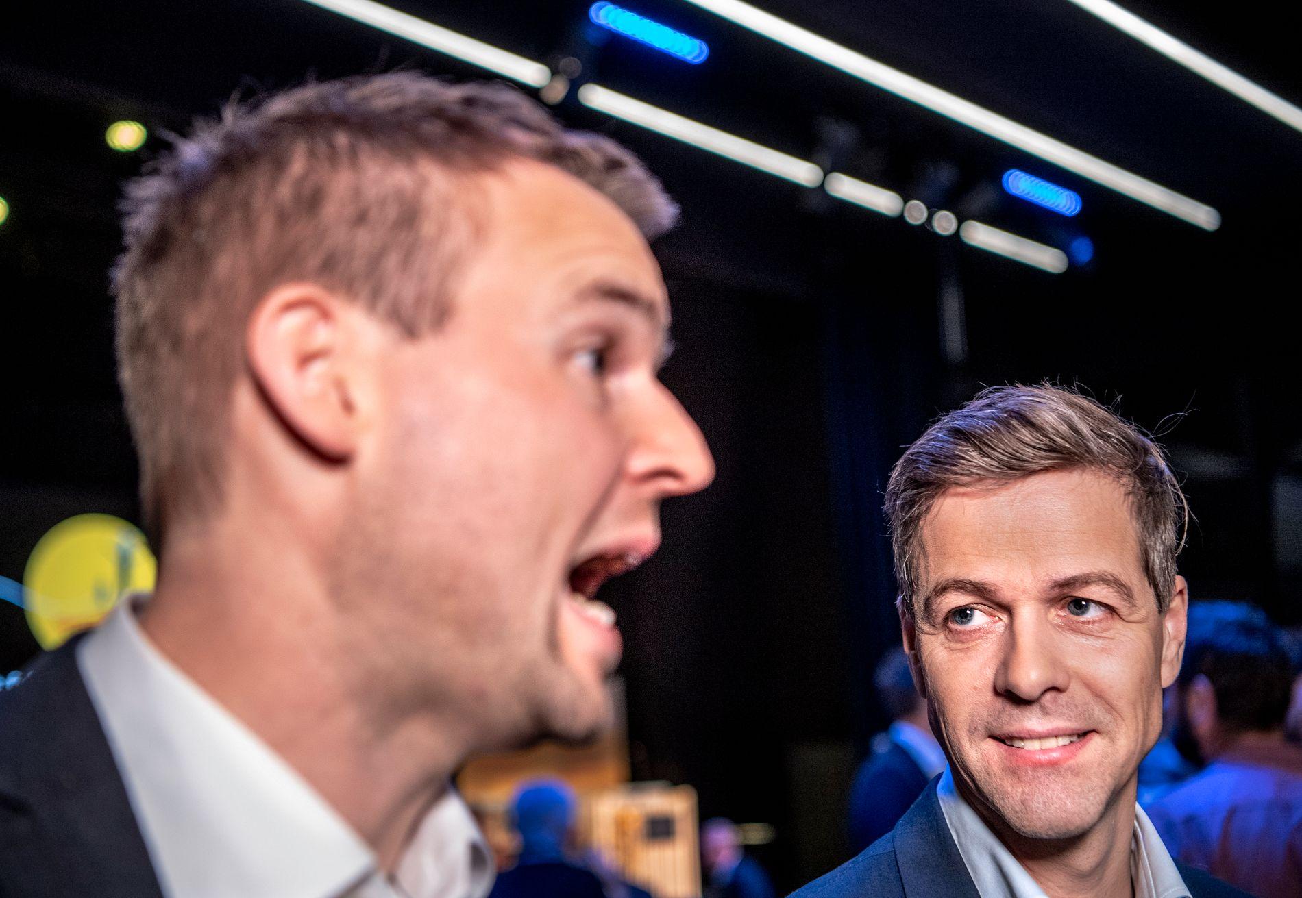 KAMP: Knut Arild Hareide står i kamp mot sine egne nestledere om partiets retningsvalg. Fredag avgjøres det.
