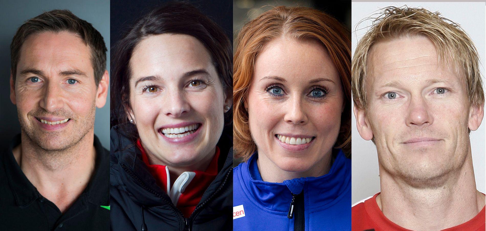KLARE FOR MESTERNES: Glenn Solberg, Ann Kristin Flatland, Karoline Dyhre Breivang og Ole Martin Årst.