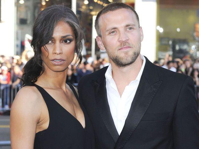 SAMBOERE: Tobias Santelmann og Jennifer Bråthen på premieren til «Hercules» i Los Angeles for et år siden.