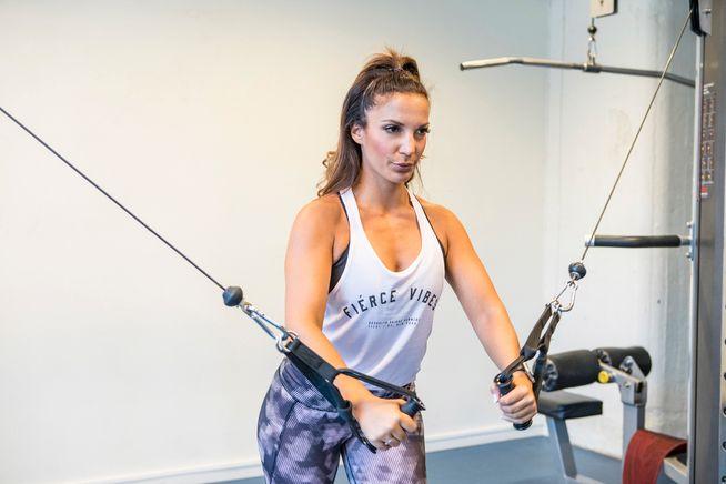 KVINNEGYM: - Hvis kvinner føler ubehag hos Fitness24Seven, bør kjeden selv ta kostnaden med å oppdra sine kunder til gjensidig respekt, skriver kronikkforfatteren. NB! Bildet har ingen relasjon med Fitness24Seven.