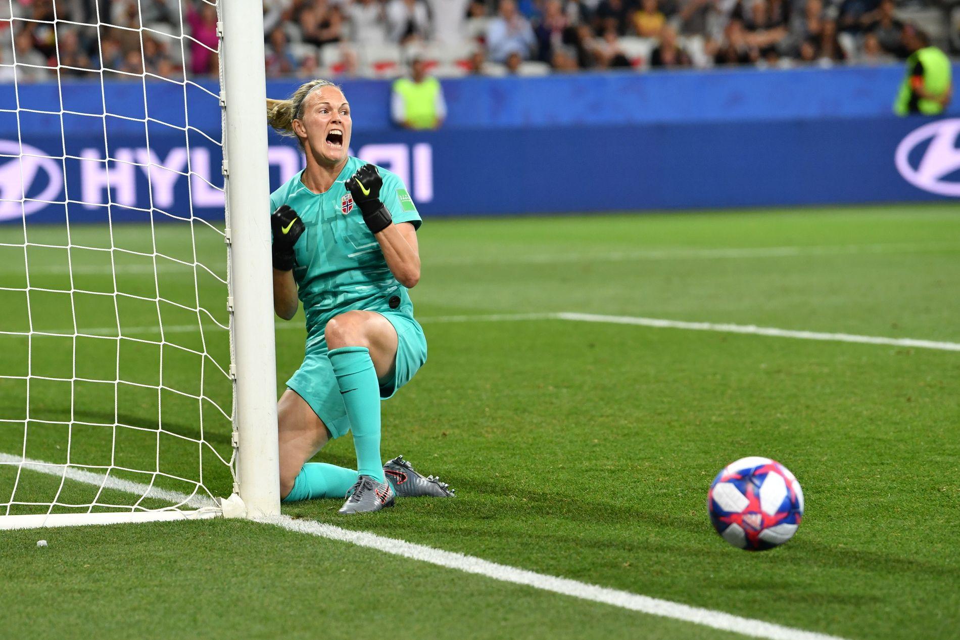 REDDET: Ingrid Hjelmseth ble helten for Norge.