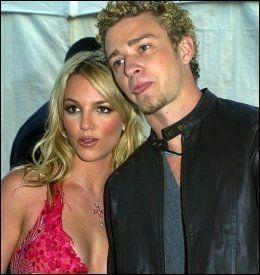 EKS-TURTELDUER: Britney Spears og Justin Timberlake på et bilde fra ti år siden. Foto: AP