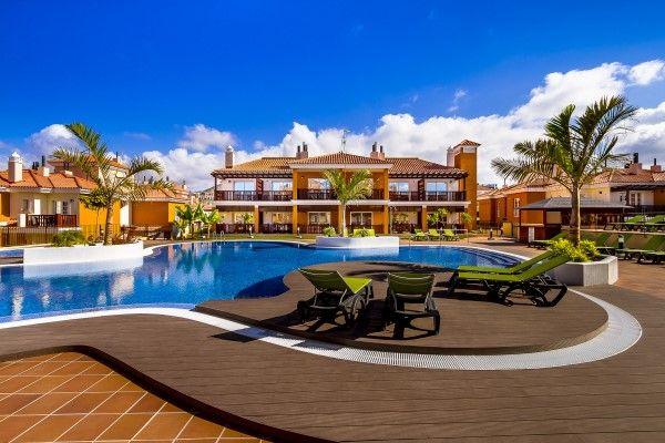 FULLFØRES: Etter byggestarten i 2002 går det nå mot ferdigstillelse av Monte Carrera-komplekset på Gran Canaria.