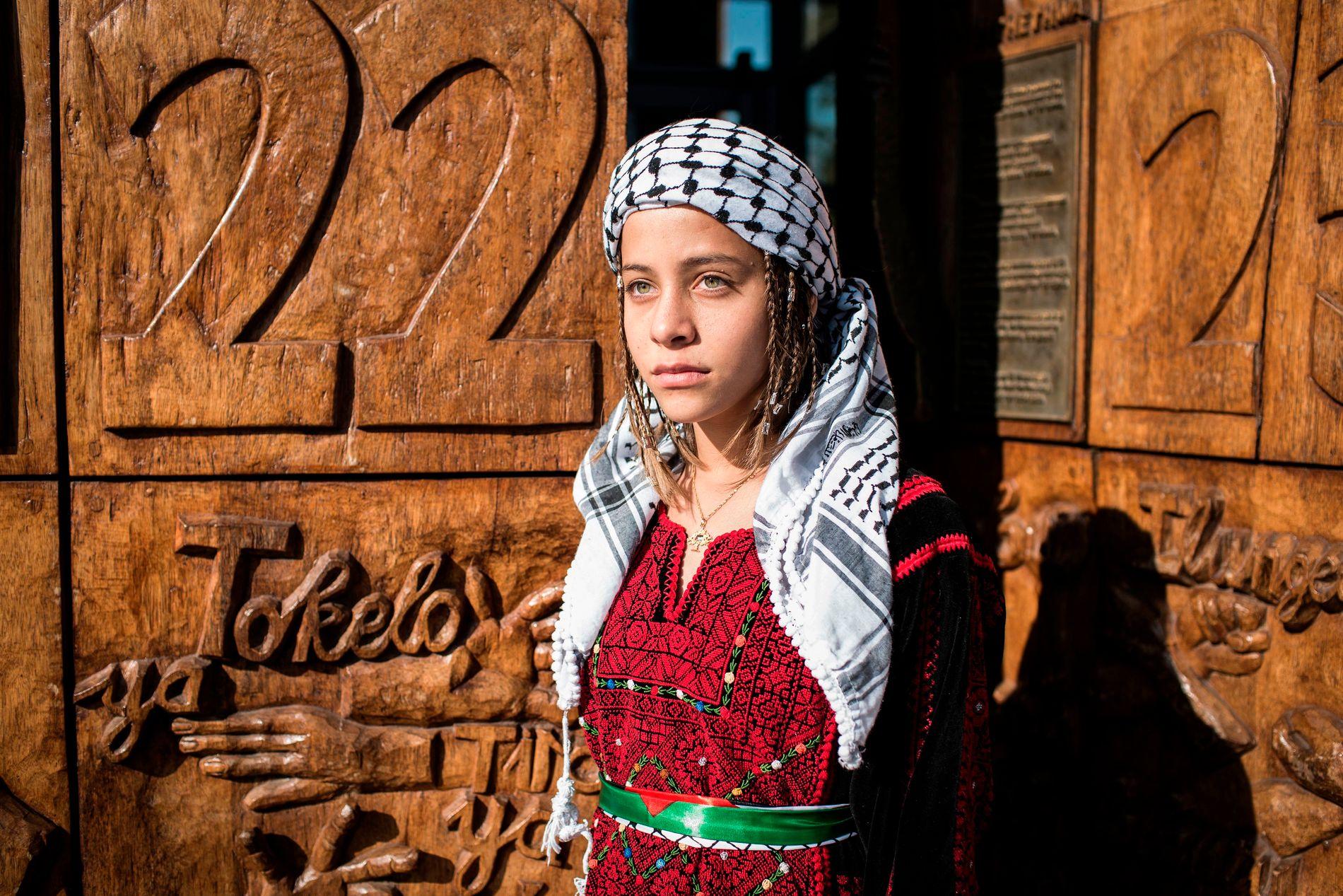 UNG STEMME: Janna Jihad blogger om livet på Vestbredden.