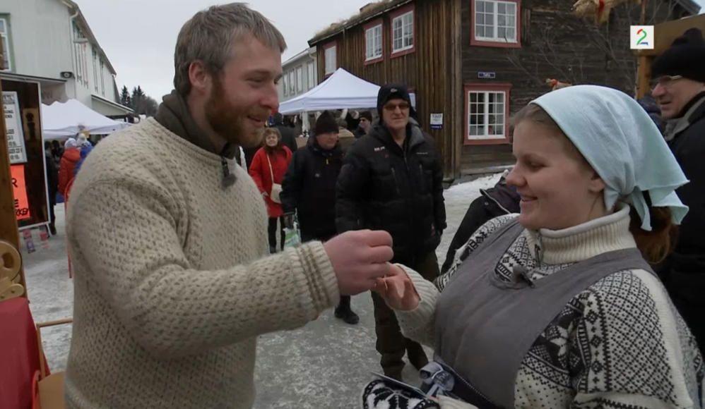 HEKTISKE ÅR: Andreas Nørstrud og Maren Andrea Nørstrud har giftet seg og fått fem barn etter «Farmen i 2012». Alle jenter.