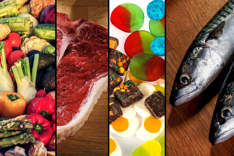 NORDMENNS KOSTHOLD: Den nye rapporten fra Helsedirektoratet er en tilstandsrapport over utviklingen i norsk kosthold. Vi spiser mer grønnsaker enn noensinne, viser årets rapport. Foto: VG