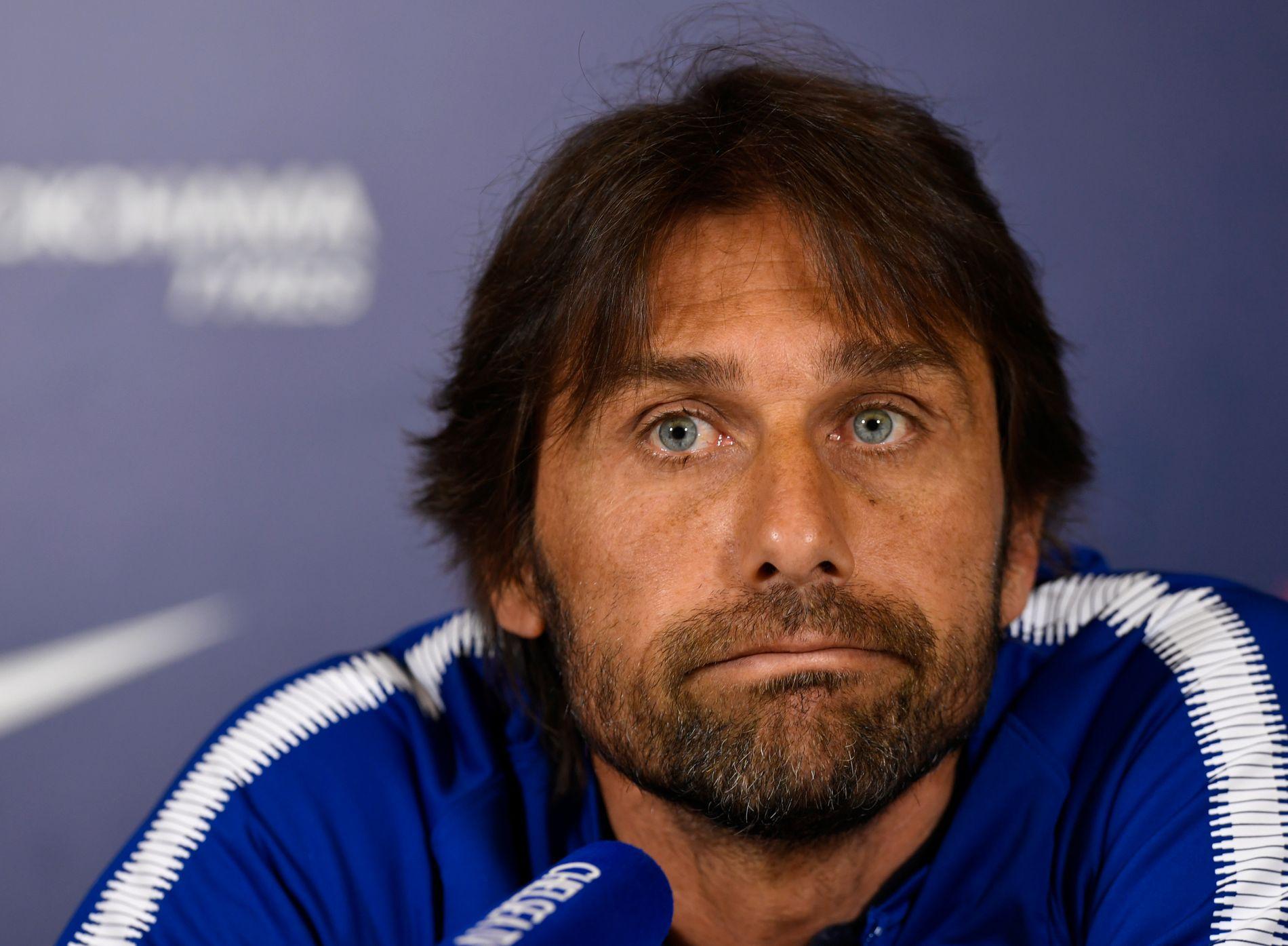 FERDIG: Antonio Contes dager i Chelsea er talte.
