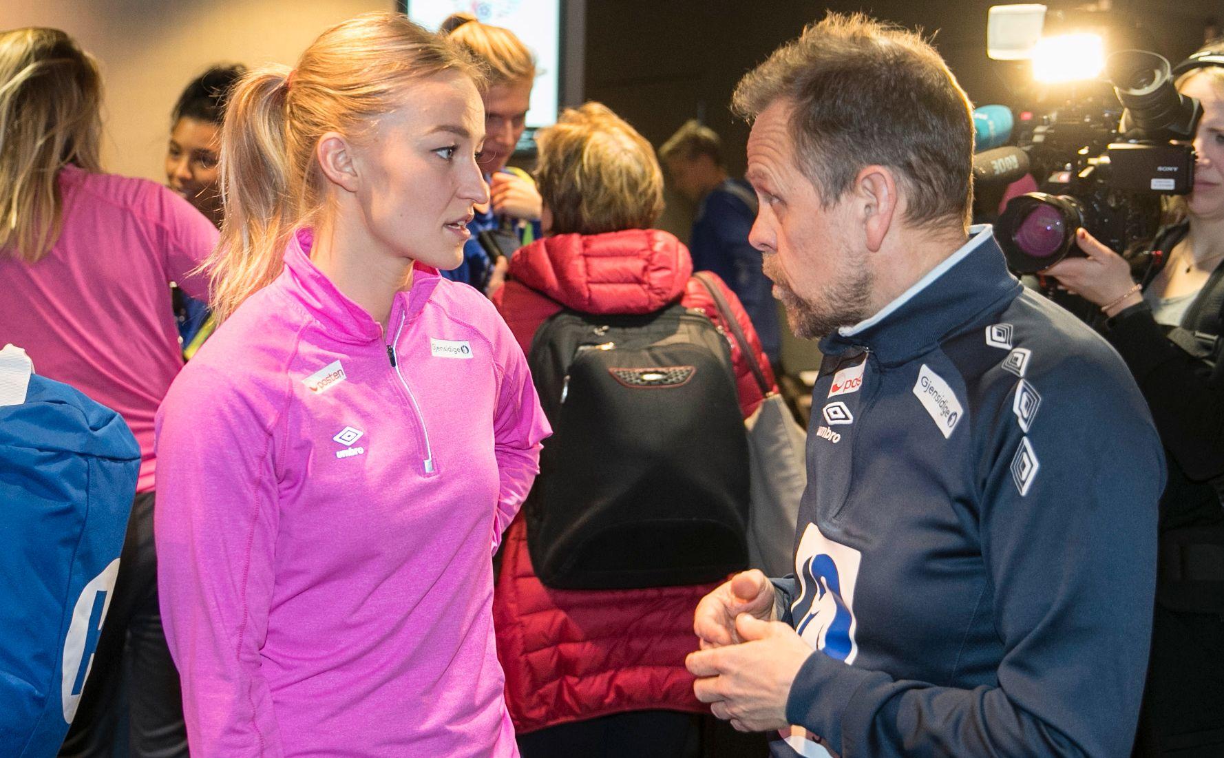 FOKUS TOKYO-OL: Ingen tvil om hva som står øverst på agendaen for Stine Bredal Oftedal og Thorir Hergeirsson de neste to årene.