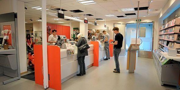 NY STIL: Bogstadveien Postkontor har flyttet inn i nye lokaler i Hegdehaugsveien 31 i Oslo. Kontoret har  nytt og moderne interiør.