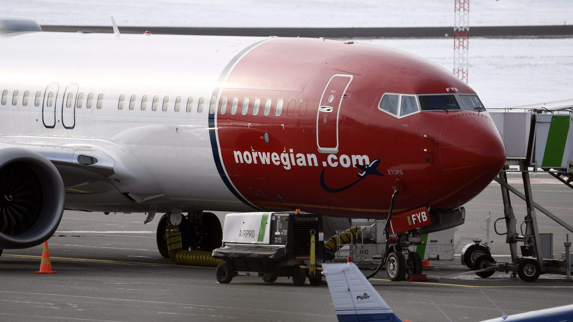 PÅ BAKKEN: Boeing 737 Max-flyene ble satt på bakken verden over i mars etter to flystyrter med flytypen i Etiopia og Indonesia. Norwegian hadde da rukket å motta 18 stykker av den nye flytypen fra Boeing.