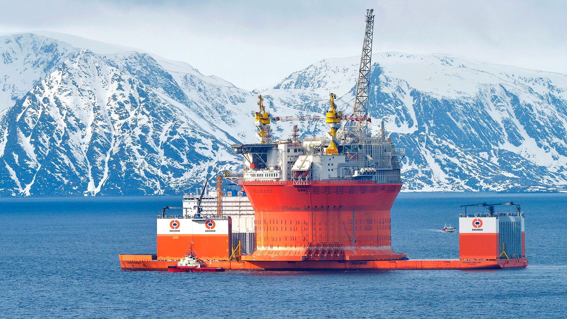 GOLIAT: Denne gigantriggen er kanskje det Sevan Marine er mest kjent for.
