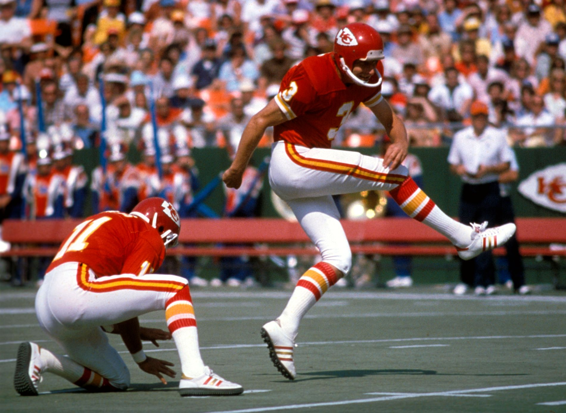 LEGENDE: Jan Stenerud sparket Kansas City Chiefs til Super Bowl-triumf - mot Minnesota Vikings - i 1970.