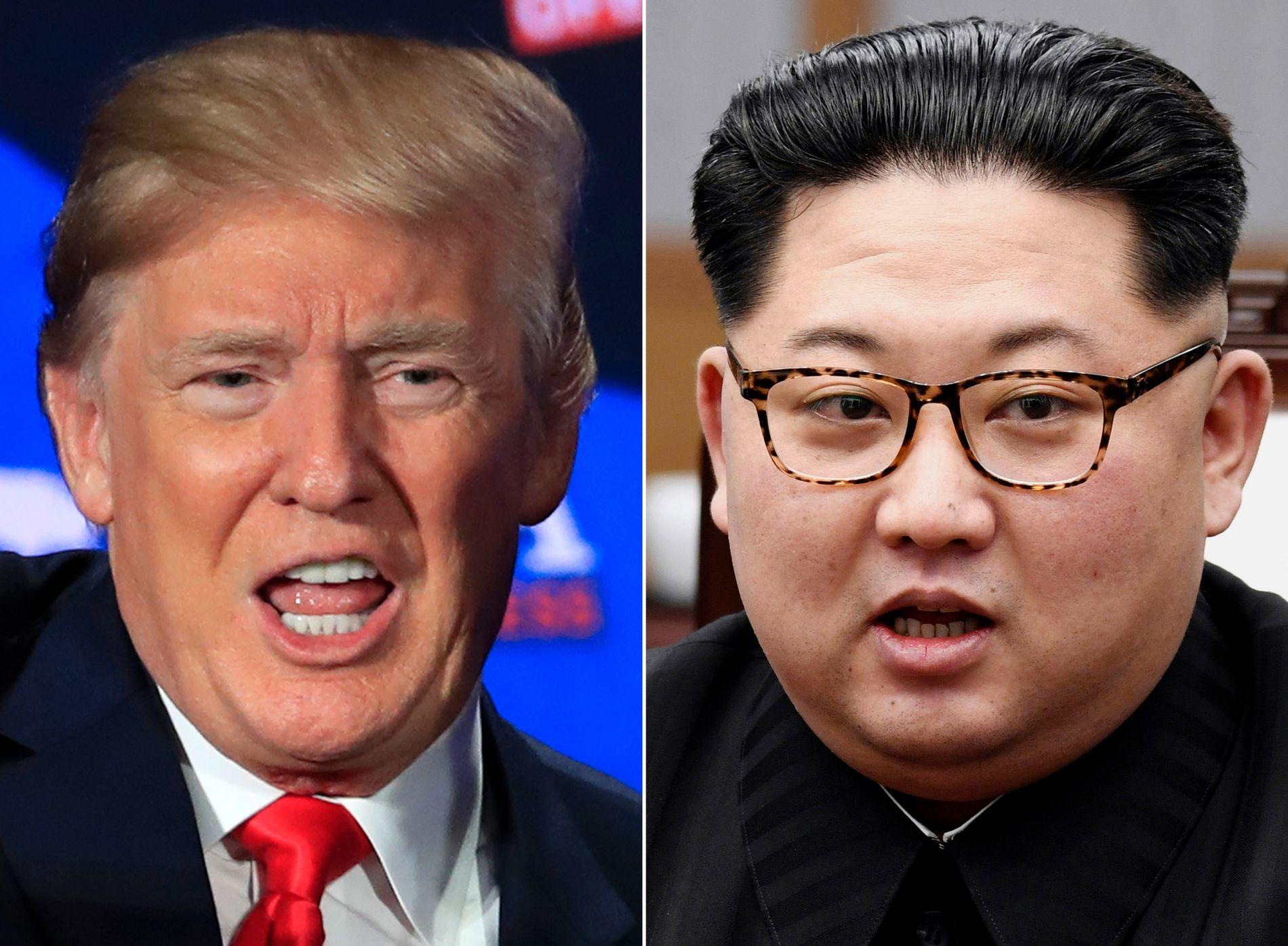 PÅ'N IGJEN: Sent søndag kveld sier Trump at en delegasjon er på plass i Nord-Korea for å forberede et toppmøte likevel.